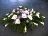 Calla Full Casket Spray (shown at $350.00)
