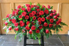 Classic Rose Full Casket Spray (shown at $300.00)