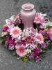 Shades of Pink Surround (shown at $150.00)