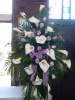 Calla Standing Spray (shown at $350.00)